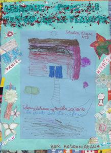 Affiche Enfants Madagascar 1