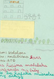 Radibisoa 9 ans 'Pour que les animaux puissent vivre librement dans la forêt et que les enfants puissent aller à l'école'